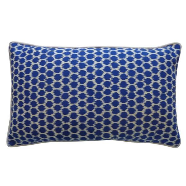 Handmade Splotch Blue Pillow. Opens flyout.