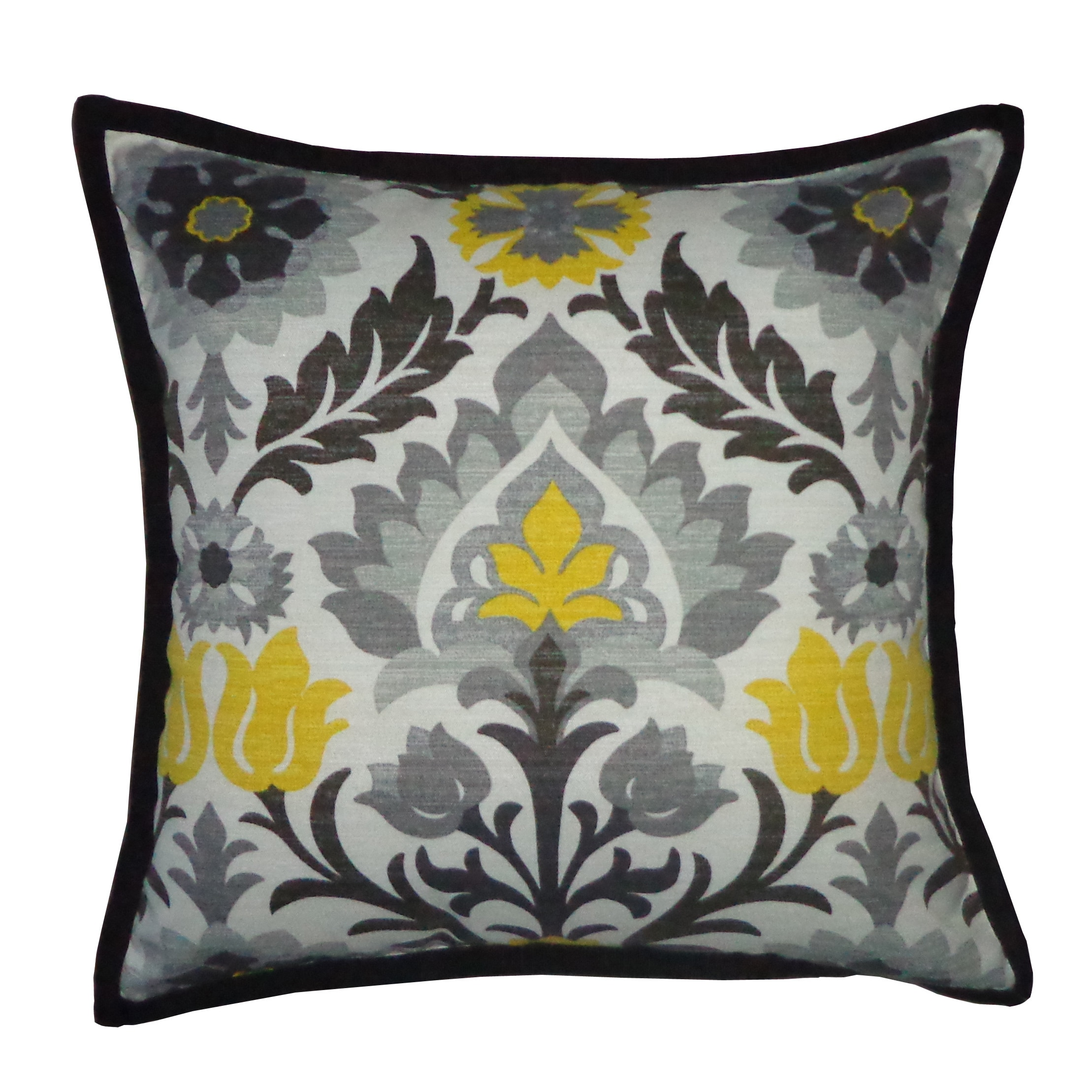 Bumble Bee Pillow (Bumble BEE), Black (Polyester)