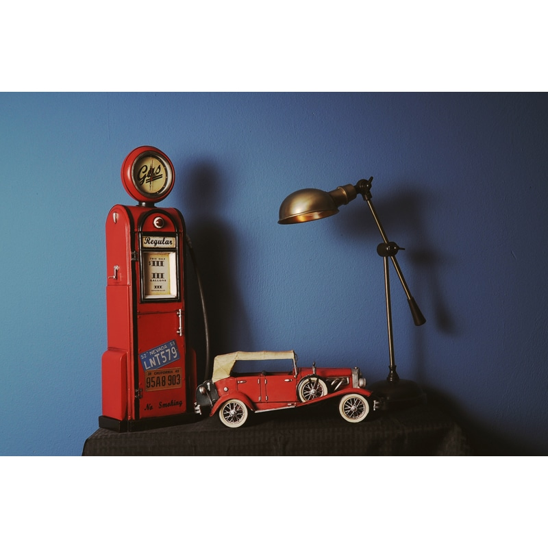 Gas Pump and Clock 1:4 Scale Model