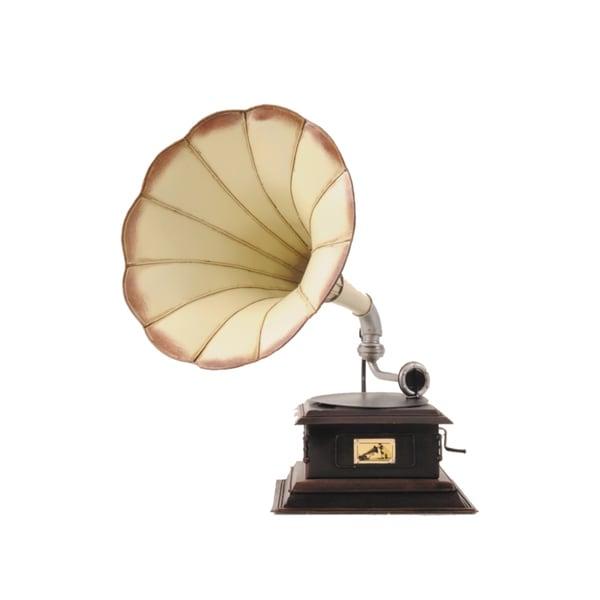 1911 Cream Edison Opera Phonograph 1:1 Scale Model