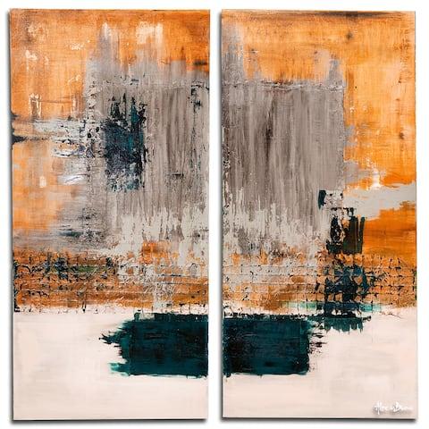 Ready2HangArt 'Bueno Exchange LXVIV-I' 2-Pc Canvas Art Set