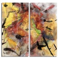 Ready2HangArt 'Bueno Exchange LXXIX' Canvas Diptych Art Print