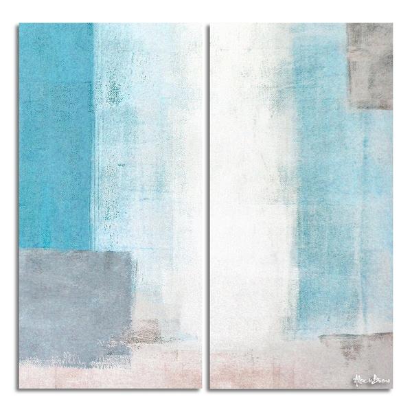 Ready2HangArt 'Bueno Exchange XXVIII' Canvas Diptych Art Print