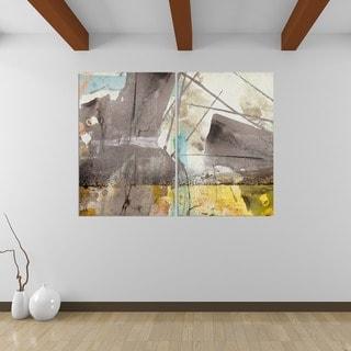 Ready2HangArt 'Bueno Exchange XLIII' Canvas Diptych Art Print