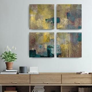 Ready2HangArt 'Bueno Exchange XLVI' Canvas Quad Art Print