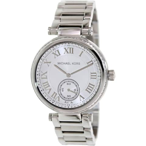 Michael Kors Women's MK5866 Skylar Silvertone Watch - Silver