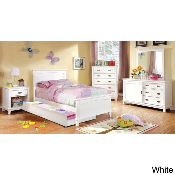 Shop Furniture Of America Kennedy 4-piece Platform Youth