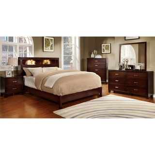 Porch & Den Taft 4-piece Polished Platform Bedroom Set