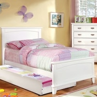 Furniture of America Kennedy 4-piece Platform Youth Bedroom Set ...