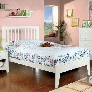 Furniture of America Martha Mission Style Platform Youth Bed