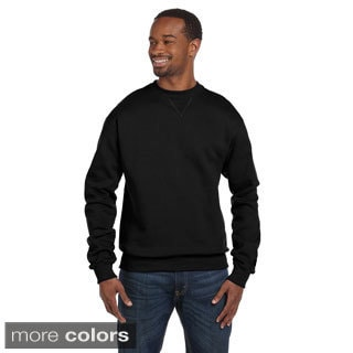 Champion Men's Cotton 9.7 ounce Max Crew Pullover