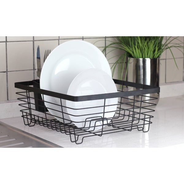 Shop Oil Rubbed Bronze Metal Wire Dish Rack Free