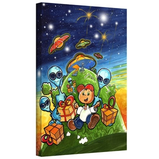 Luis Peres 'Happy Birthday' Gallery-wrapped Canvas