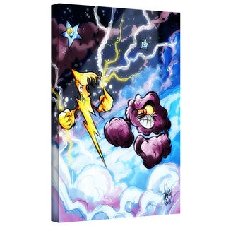 Luis Peres 'Lightning' Gallery-wrapped Canvas
