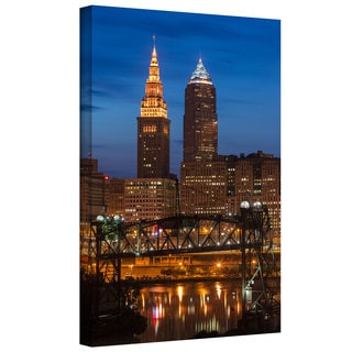 Cody York 'Cleveland 14' Gallery-wrapped Canvas