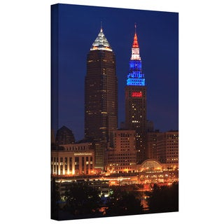 Cody York 'Cleveland 4' Gallery-wrapped Canvas