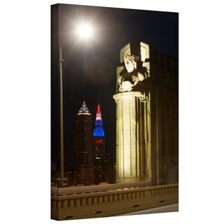 Cody York 'Cleveland 6' Gallery-wrapped Canvas