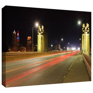 Cody York 'Cleveland 7' Gallery-wrapped Canvas