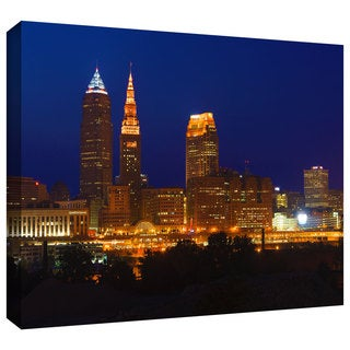 Cody York 'Cleveland 15' Gallery-wrapped Canvas
