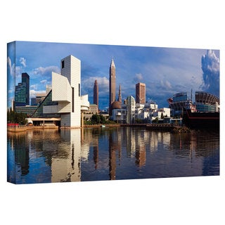 Cody York 'Cleveland 20' Gallery-wrapped Canvas