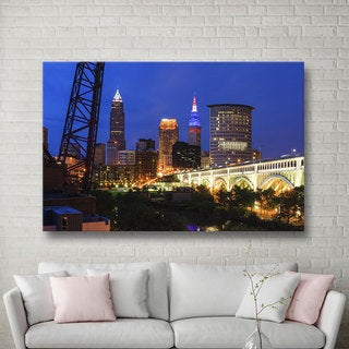 Cody York 'Cleveland 21' Gallery-wrapped Canvas