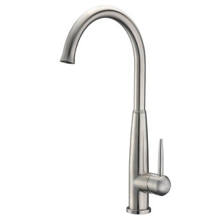 Cadell 70500 Brushed Stainless Steel Single Handle Kitchen Faucet