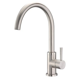 Cadell 70200 Brushed Stainless Steel Single Handle Kitchen Faucet
