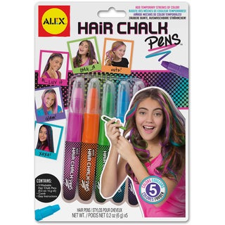Hair Chalk Pens-Assorted Colors