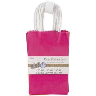 Paper Bags 3.25inX5.25inX8.375in 13/Pkg-Assorted Bright