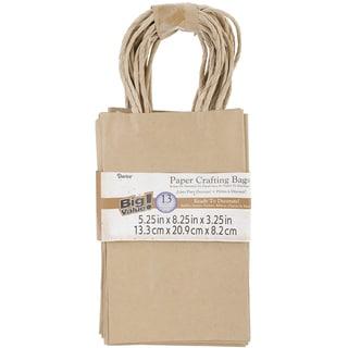 Paper Bags 3.25inX5.25inX8.375in 13/Pkg-Kraft