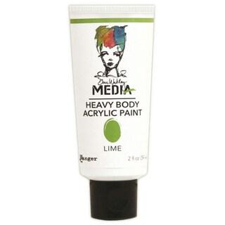 Dina Wakley Media Heavy Body 2oz Acrylic Paints-Lime
