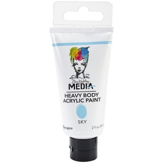 Dina Wakley Media Heavy Body 2oz Acrylic Paints-Sky