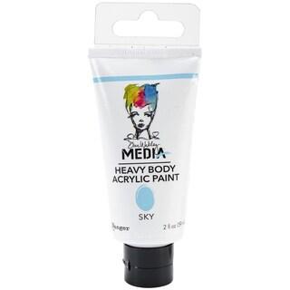 Dina Wakley Media Heavy Body 2oz Acrylic Paints-Sky