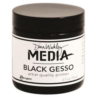 Dina Wakley Media Gesso 4oz Jar-Black