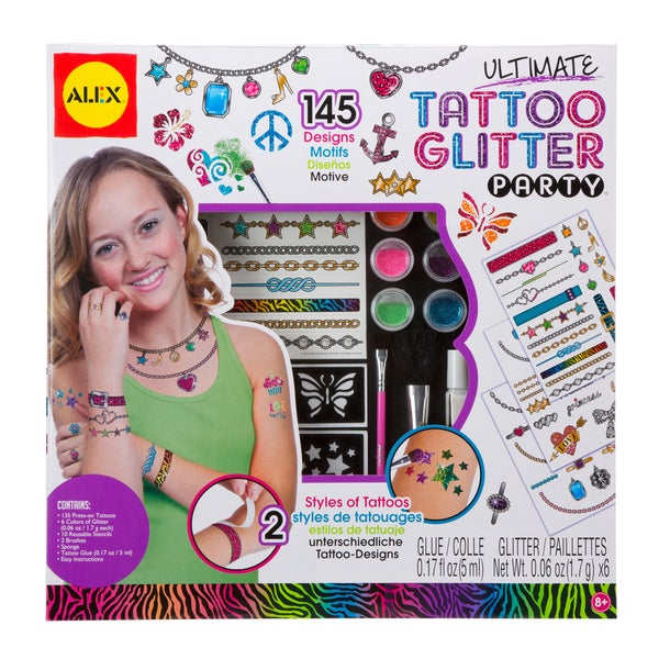 Ultimate Tattoo Glitter Party Kit