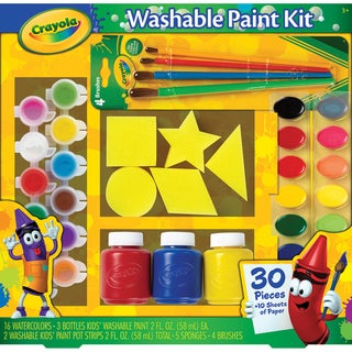 Crayola Washable Kid's Paint Kit-40pc