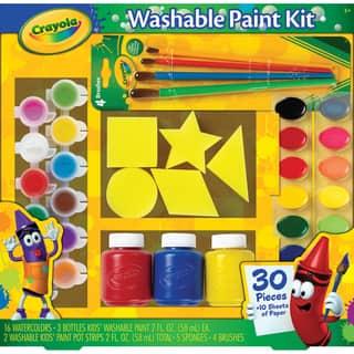 Crayola Washable Kid's Paint Kit-40pc|https://ak1.ostkcdn.com/images/products/9190049/P16363560.jpg?impolicy=medium