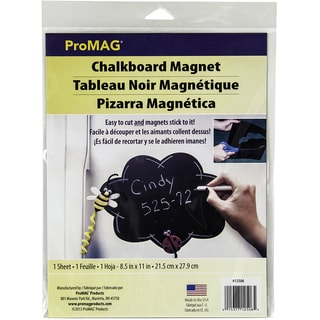 Chalkboard Magnet Sheet .030inX11inX8.5in 1/Pkg