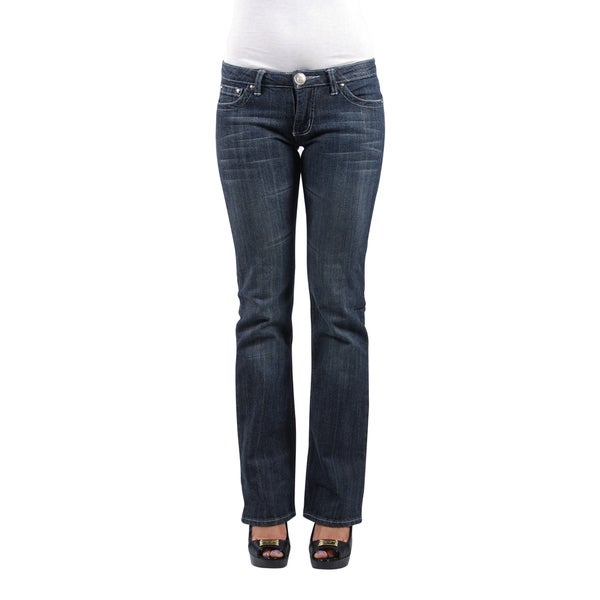 Shop Boston Jean Company Women's 'Z-Jean' Low-rise Denim