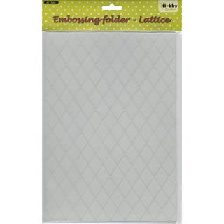 Nellie's Choice Embossing Folder A4-Lattice|https://ak1.ostkcdn.com/images/products/9190338/P16363759.jpg?impolicy=medium