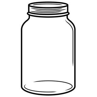 Embossing Folder 4.25inX5.75in-Mason Jar