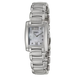 Ebel Women's 'Brasilia' Stainless Steel Swiss Quartz Watch