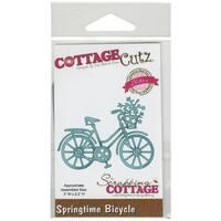 CottageCutz Elites Die 3inX2.2in-Springtime Bicycle