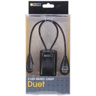 Mighty Bright Duet LED Music Light-Black