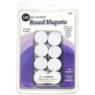 Round Magnets 100/Pkg-.75in