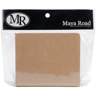 Maya Road Chipboard Binder 4inX5in-(6) 3inX4.5in Pages