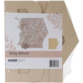 Beyond The Page MDF Baby Album-7.75inX8.5inX.5in