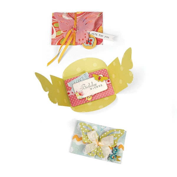 Sizzix Bigz XL Die 6inX13.75in-Butterfly Card