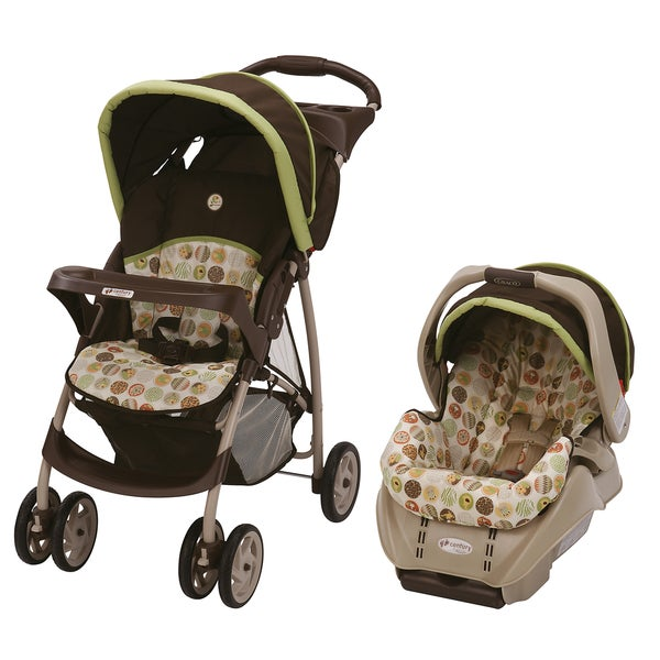 Graco Classic Connect Travel System in Jungle Boogie