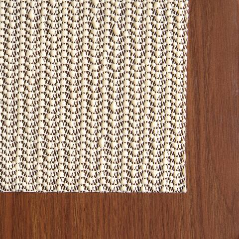 Con-Tact Brand Eco-Stay Non-slip Rug Pad (2' x 4') - Natural - 2' x 4'